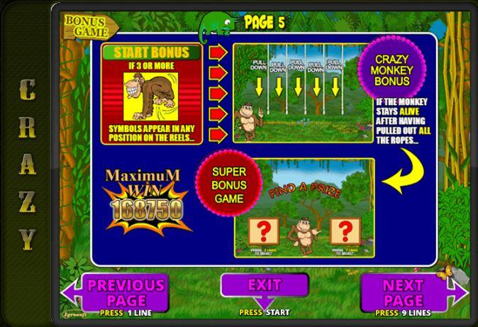бешеные обезьяны игровые автоматы